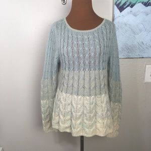 Anthropologie SPARROW wool knit sweater